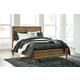 Broshtan California King Panel Bed in Light Brown