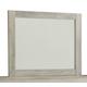 Bellaby Bedroom Mirror in Whitewash B331-36
