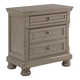 Lettner Two Drawer Night Stand in Light Gray B733-92