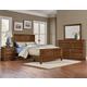 Vaughan-Bassett Artisan Choices 4-Piece Panel Bedroom Set in Amish Cherry