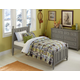 Hillsdale Furniture Lake House Kennedy Twin Panel Bed in Stone 2020N PROMO