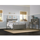 Hillsdale Furniture Lake House Kennedy Full Panel Bed in Stone 2025N PROMO