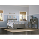 Hillsdale Furniture Lake House Kennedy Full Panel Bed with Storage in Stone 2025NS PROMO