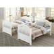 Hillsdale Furniture Lake House Adrian Twin Panel Bed in White 1030N PROMO