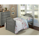 Hillsdale Furniture Lake House Adrian Twin Panel Bed in Stone 2030N PROMO