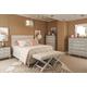 Durham Furniture Escarpment 4-Piece Low Upholstered Bedroom Set
