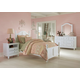 Hillsdale Furniture Lake House 4pc Payton Arch Bedroom Set in White PROMO