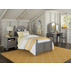 Hillsdale Furniture Lake House 4pc Payton Arch Bedroom Set in Stone PROMO