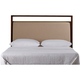 Stanley Furniture Mulholland King Upholstered Headboard in Pecan 699-13-145