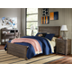Legacy Classic Kids Furniture Bunkhouse 4pc Louvered Panel Bedroom Set in Aged Barnwood