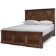Legends Furniture Farmhouse Queen Panel Bed in Aged Whiskey
