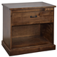 Legends Furniture Farmhouse 1 Drawer Nightstand in Aged Whiskey FH7106.AWY