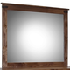 Legends Furniture Farmhouse Mirror in Aged Whiskey FH7104.AWY