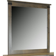 Legends Furniture Farmhouse Mirror in Barnwood FH7204.BNW