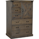 Legends Furniture Farmhouse Door Chest in Barnwood FH7205.BNW