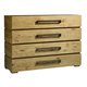 Tommy Bahama Home Los Altos Perth 4 Drawer Single Dresser in Natural Oak 566-221