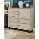 Durham Furniture Odyssey Dressing Chest in Grey Stone 186-169