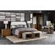 Fine Furniture Esquire 4pc Trafalgar Bedroom Set in Walnut