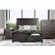 Furniture of America Argyros 4pc Panel Bedroom Set in Espresso