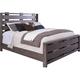 Broyhill Furniture Moreland Avenue California King Bed in Acacia