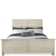 Riverside Aberdeen California King Panel Bed in Weathered Worn White