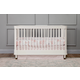 Million Dollar Baby Classic Tanner 3-in-1 Convertible Crib in Warm White B14301RW