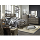 Broyhill Furniture Moreland Avenue Bedroom Set in Acacia 5815BRSET