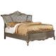 Furniture of America Johara Queen Sleigh Bed in Gold CM7090Q