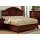 Furniture of America Grandom Queen Platform Bed in Cherry CM7736Q