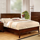 Furniture of America Snyder Full in Brown Cherry CM7792F
