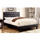 Furniture of America Kodell Full Panel Bed in Black CM7795BK-F