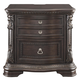 Wellsbrook 2 Drawer Nightstand in Dark Brown B806-92