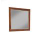 Alpine Furniture Flynn Mirror in Acorn/White 999-06