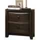 Acme Furniture Brenta Nightstand in Walnut 26643