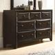 Acme Furniture Brenta Dresser in Walnut 26645