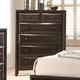 Acme Furniture Brenta Drawer Chest in Walnut 26646