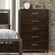 Acme Furniture Charleen Chest in Walnut 26686