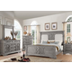 Acme Furniture Artesia 4pc Panel Bedroom Set in Salvaged Natural
