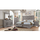 Acme Furniture Artesia 4pc Storage Bedroom Set in Salvaged Natural