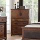 Acme Furniture Vibia Chest in Cherry Oak 27166