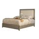 Alpine Furniture Camilla Queen Panel Bed in Antique Grey