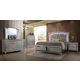 Acme Furniture Kaitlyn 4pc Storage Bedroom Set in Champagne