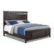 Klaussner Burbank California King Panel Bed in Rustic Charcoal 992-060
