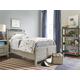 Universal Smartstuff Scrimmage 4pc Panel Bedroom Set in Greystone