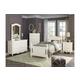 Homelegance Clementine 4pc Bedroom Set in White