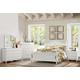 Homelegance Clementine 4pc Panel Bedroom Set in White