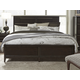 Magnussen Furniture Modern Geometry King Panel Bed in French Roast