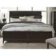 Magnussen Furniture Modern Geometry California King Panel Bed in French Roast
