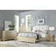 Acme Furniture Voeville II 4pc Upholstered Bedroom Set in Champagne