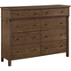 Acme Furniture Inverness Dresser in Reclaimed Oak 36094